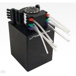 Micro điện nhu động bơm 12 V/24 V Mini định lượng bơm nước PUO24-N - Mycroyntech