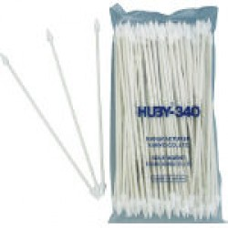 Industrial Cotton Swabs Pointed Cone Type 5.0 mm/Paper Shaft - HUBY